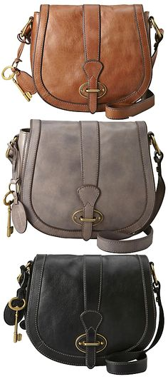 Loving this Fossil handbag that's part of their Vintage Re-issue line. But which colour?