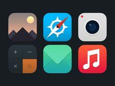 Ios 7 icons #icon #flat