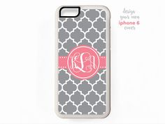 New to TheMonogramLine on Etsy: monogram iphone 6 cover  design your own (15.95 USD)