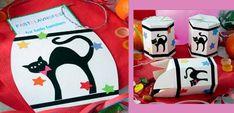 Hyg dig i dagene op til fastelavn med papirklip af den fineste slags: Fastelavnsris, sliktønder og indbydelse. Kids Carnival, Sweet Buns, Carnival Costumes, Family Games, Clowns, Hallows Eve, Diy Halloween, Mardi Gras, Hello Kitty