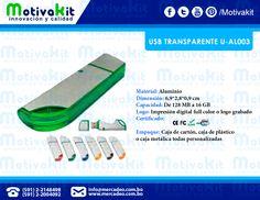 USB transparente