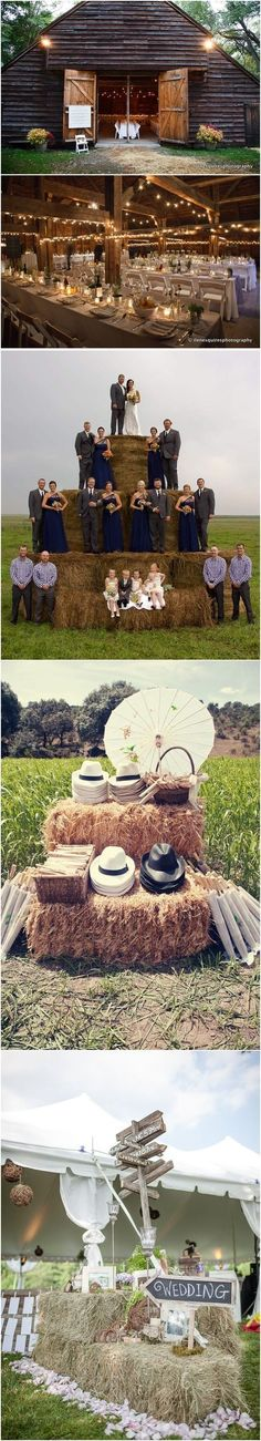 Rustic country farm wedding ideas / http://www.deerpearlflowers.com/gorgeous-ideas-for-country-farm-wedding/2/ #rusticcountryweddings