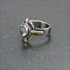 Strukova Elena - copyrights jewelry - ring with zircon