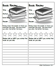 Book Review Bookmarks