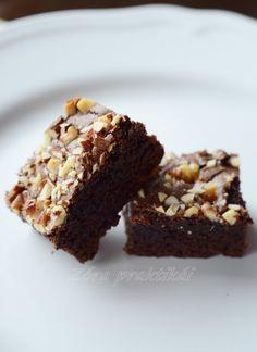 Zóra praktikái blog: Imádnivaló brownie