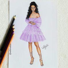 #Badgalriri #FentyBeauty.    #croquidemoda #desenhosdemoda #faber-castell #moda #Rhianna #Riri #Fenty #Pop #celebridadespop #cantoras #croqui #ilustração #illustrations #designer #arts #arte #desenhosrealista