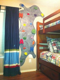Find This Pin And More On Playroom Interesting Spin On The Climbing Wall