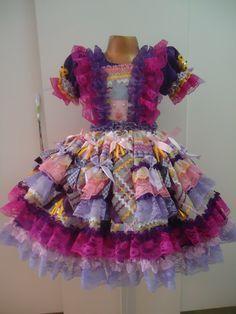 Vestidos Caipira Infantil :: Yang Festas e Fantasias