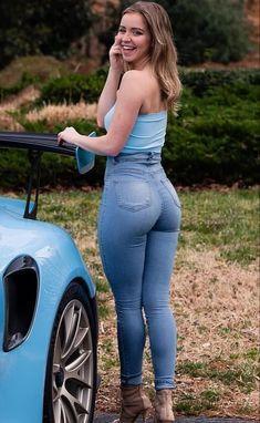 I love women in tight jeans, i love grabbing women in tight jeans and I love fucking women with their tight jeans on. Jeans Skinny, Sexy Jeans, Curvy Jeans, Casual Jeans, Sexy Outfits, Girl Outfits, Fashion Outfits, Fashion Tips, Curvy Women Fashion