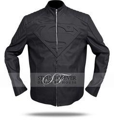 Fancy - Smallville Black Superman Leather Jacket