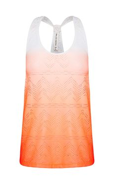 Sunset Excel Mesh Tank | Loose Fit Styles | Shop By Fit | Categories | Lorna Jane Site  Been checking stores non stop for this to come in!  #LJWISHLIST
