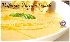 Vellutata Zucca e Fagioli
