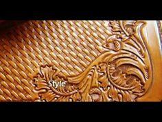 Using Backgrounder in Leatherwork ~ Leathercraft Tutorial ~ Basics of Leather Craft - YouTube