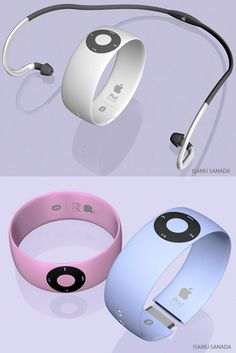iWatch Shuffle The Top Apple Concept Designs for 2013   iDesk, iTV, iWatch, and More!