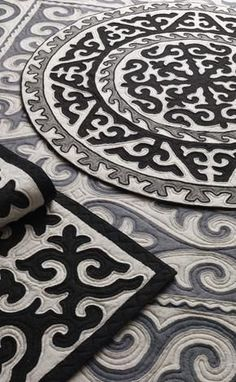 Felt art, known as shyrdak, is an age-old tradition of the nomadic kyrgyz people. part mosaic, part quilt, the interlocking patterns and distinctive borders of shyrdak combine to create a rich tapestry