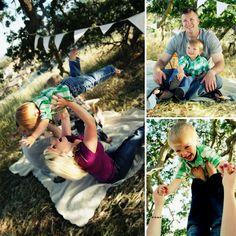Arty McGoo: Family Picnic Photo Shoot