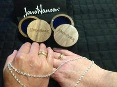 A lovely photo from Maurice Bouchard, who visited us in the Nelson studio with his wife Lesley, on their trip to New Zealand from Canada. They chose The One Ring and chain during their visit.