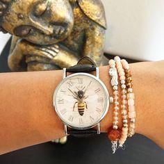 WOODSTOCK ZAMBON WATCH! Take Your Time!  Shop: www.woodstockzambon.com Instagram:https://www.instagram.com/woodstockzambonvalentina/ #woodstockzambon #style #streetstyle #orologi #watch #summer2016 #bee #ape