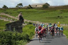 "The ""Tour De France"" In Yorkshire"