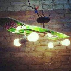 #skateboard #light