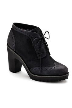 {Emory Oxford Booties - Black} Sperry Top-Sider