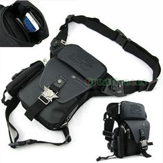 Men's PU Leather Oxford Tactical Motorcycle Bike Sport Cross body Messenger Shoulder Hip Bum Fanny Pack Waist Leg Thigh Drop Bag-in Waist Packs from Luggage & Bags on Aliexpress.com | Alibaba Group