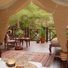 Finch Hattons Camp, Tsavo West National Park, Kenya
