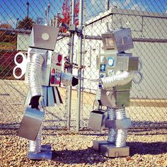 cardboard robot costumes