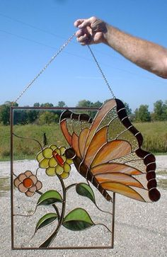 Love the way the butterfly extends beyond the frame.
