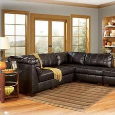 Nebraska Furniture Mart – Ashley Contemporary 4-Piece Sectional
