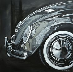 VW - Paintings by our aircooled friend Manu Campa  Find more on http://manucampa.com