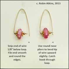 Beadlust: In The Pink ~ Wireworking Tutorial