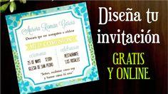 ¿Tienes en mente cómo te gustaría que fueran tus invitaciones? Pues haz tú mismo el diseño con este tutorial.