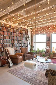 Home Decor Living Room And finally this INCREDIBLE loft library that deserves every interior decorating award known to man.Home Decor Living Room And finally this INCREDIBLE loft library that deserves every interior decorating award known to man. Decor Room, Living Room Decor, Bedroom Decor, Bedroom Ideas, Cozy Bedroom, Living Rooms, Apartment Living, Living Room Bookshelves, Bedroom Modern