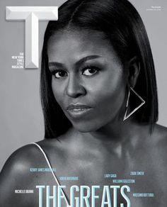 Michelle Obama T Magazine cover | British Vogue