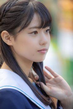 Beautiful Japanese Girl, Beautiful Asian Girls, Cute Asian Girls, Cute Girls, School Girl Dress, Sailor Fashion, Cute Beauty, Girl Face, Girl Photos