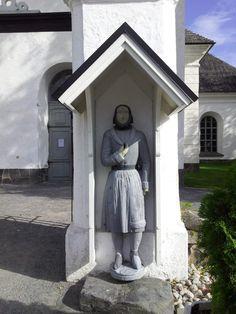 Ukko nro 27, Kaarlelan kirkko Kokkolassa 1.9.2013.  Tiettävästi vuodelta 1847.