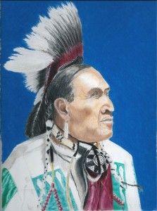 American-Indian by Geoff Fielding