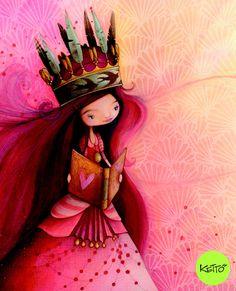 Photo Carte de souhaits La Reine des mots
