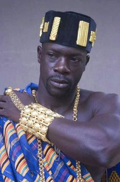 The cuff. A Ghanian King