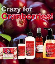 Frosted Cranberry Holiday Collection, Ripe cranberries collide with juicy plums for a mouth-watering splash of tangy sweetness. This irresistible holiday gift set consists of a body polish, lotion duo & aromatic room spray. On sale for $39.
