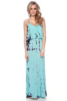 Striped Tie Dye Maxi - @Marissa Gonzalez We should really get started on all of these DIY projects! :P