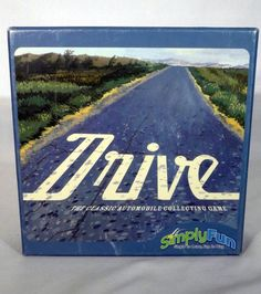 Drive - The Classic Automobile Collecting Board Game by SimplyFun SEALED CARDS #SimplyFun