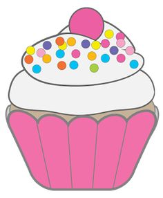 free printable cupcake clip art bing images cupcakes pinterest rh pinterest com