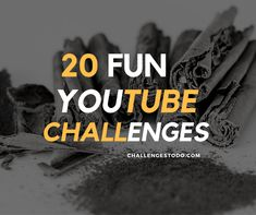 Are you looking for fun challenges to with your friends? Check out these awesome and funny YouTube challenges to try with your friends.