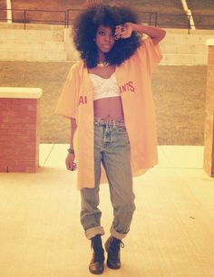 A Different Drum: Androgynous Afro-punk Look Fashion, 90s Fashion, Urban Fashion, Fashion Outfits, Estilo Hip Hop, Afro Punk Fashion, Estilo Real, Dope Outfits, Retro Outfits