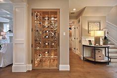 Hallway Closet Wine Cellar