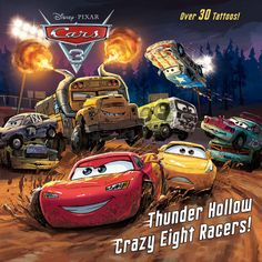 This full-color storybook with tattoos retells a key scene from Disney/Pixar Cars 3—just in time for the release of Cars 3 on Blu-ray and DVD!      Blindsided by a new generation of blazing-fast racers, the legendary Lightning McQueen (voice of Owen Wilson) is suddenly pushed out of the sport he loves. To get back in the game, he will need the help of an eager young race technician with her own plan to win, inspiration from the late Fabulous Hudson Hornet, and a few unexpected turns. Proving…