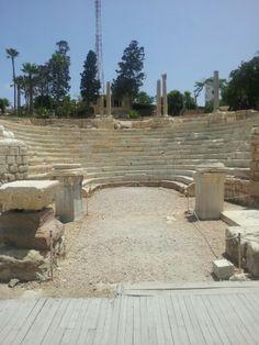 Roman Amphitheater in Alexandria Built ... 3000 Years Ago ! ..