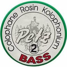Petz Bass Rosin, Medium by Petz. $8.99. Premium professional rosin. Foil covered cake in a covered container.